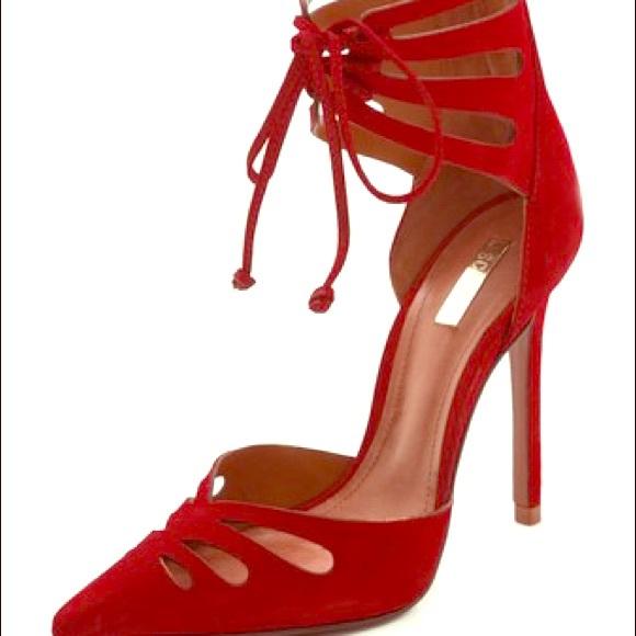 20% off SCHUTZ Shoes - SCHUTZ NADELY red pumps from Jenn's closet ...