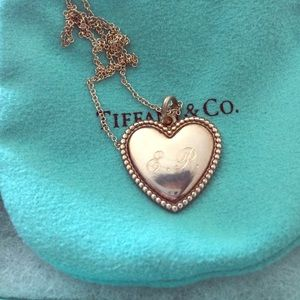 Tiffany & Co. Jewelry - Tiffany&Co. Sterling Silver Personalized Necklace