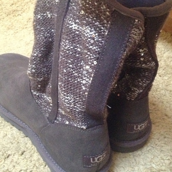 womens ugg sequin boots