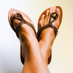 Mystique - Jewelry for your Feet Resort Sandals 8