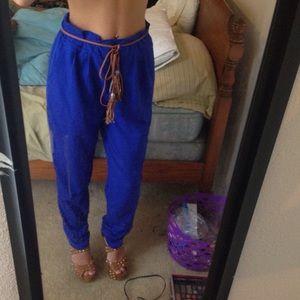 Pants - Blue very chic pants!