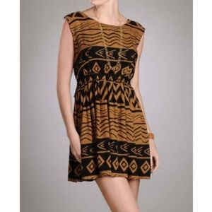 MINKPINK tribal dress, S