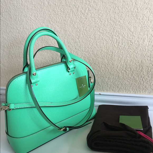 17% off kate spade Handbags - Kate spade small rachelle bud green ...