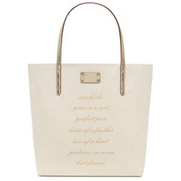 Kate Spade Bridal Tote Bag Nwt