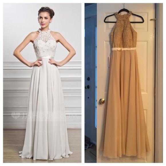 JJ\'s House Dresses   Aline Floor Length Chiffon Dress   Poshmark