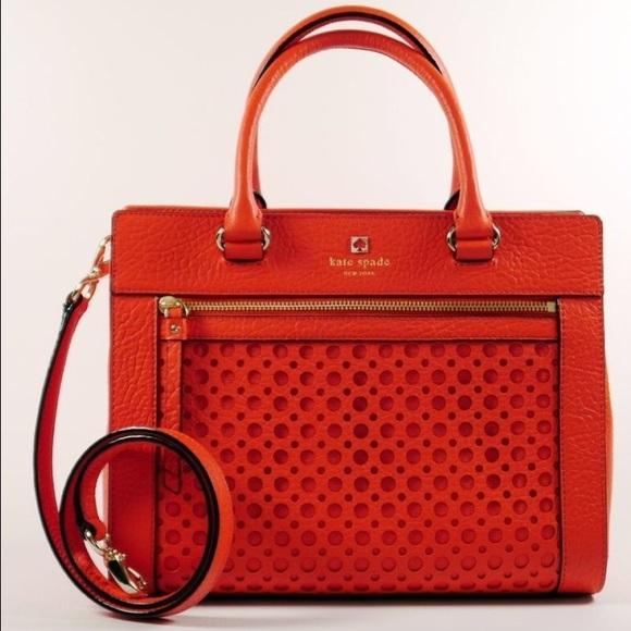 Kate Spade Bags Perri Lane Romy Red Handbag Purse Bag Poshmark
