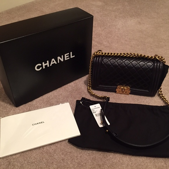 CHANEL Handbags - 🚫🚫SOLD🚫🚫Chanel Boy Bag Size Old Medium BNWT