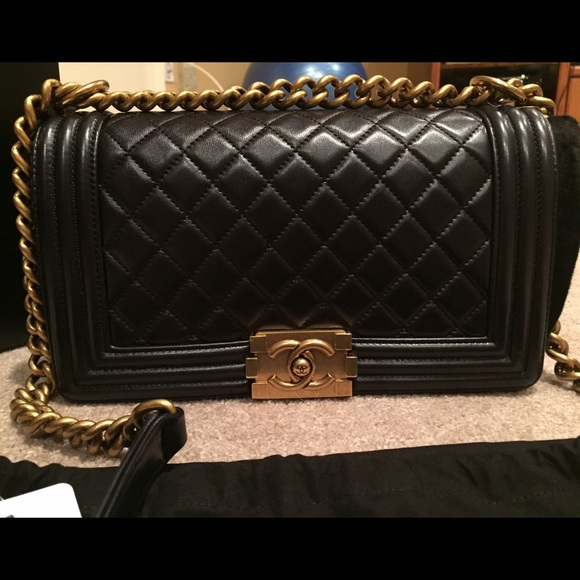 CHANEL Bags - 🚫🚫SOLD🚫🚫Chanel Boy Bag Size Old Medium BNWT
