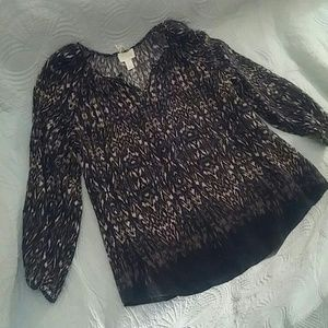 Lucy and Laurel Boho Top NWT.