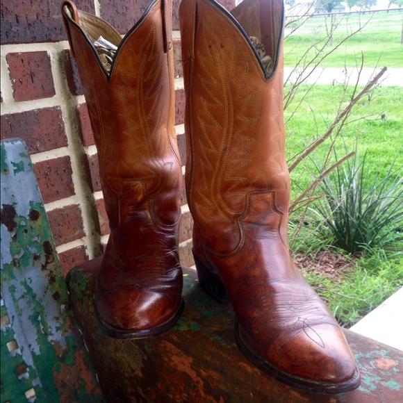 c24c9c52a57 Vintage cowboy boots mens size 10