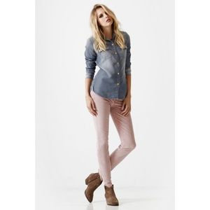 7 for all Mankind Pants - 7fam the Skinny Rose Corduroys