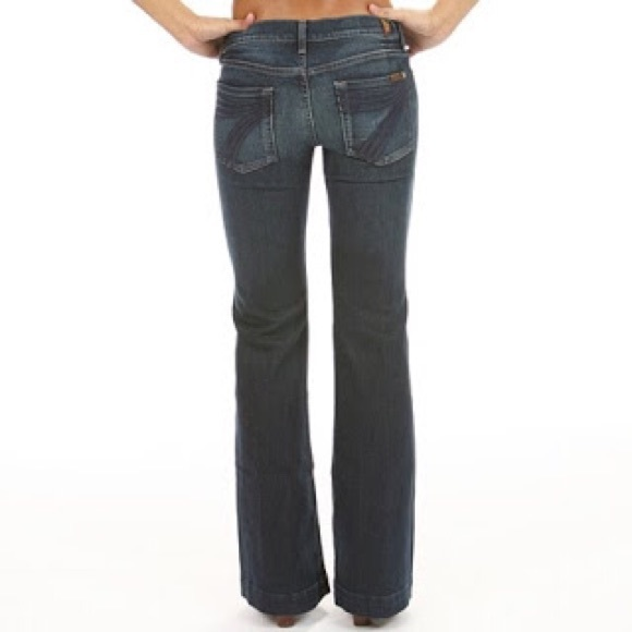 79% off Seven for all mankind Denim - Seven For All Mankind Dojo ...