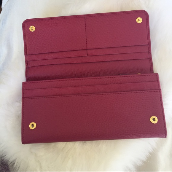 prada leather accessories - prada pink wallet