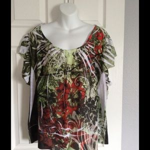 Tops - REDUCED FOR .99 shipping -Colorful Blouse