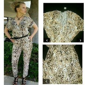 Pants - ROMPER pants Animal print