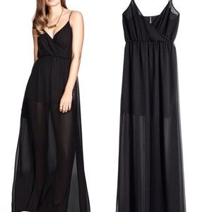 H&M - Chiffon Maxi Dress