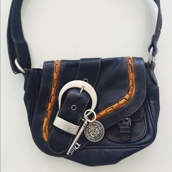 Dior Bags   Christian Limited Edition Saddle Purse   Poshmark d12825cb78