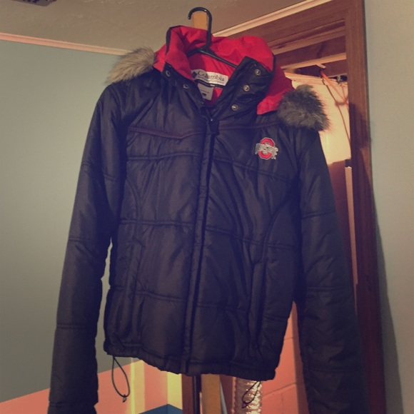 newest collection ada25 1f4f7 Columbia Outerwear - Columbia Ohio state winter coat