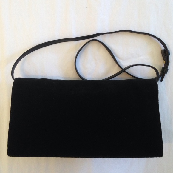 Yves Saint Laurent - SALE YSL Black Byzance Jeweled Clutch Bag ...