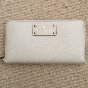 Authentic Kate Spade leather tech wallet