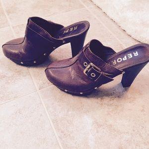 Shoes Flats Leather Meloni
