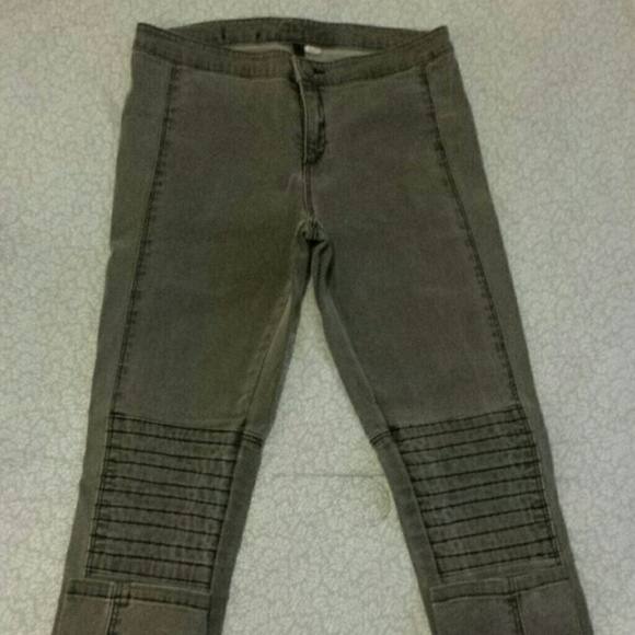 H&m Jeans Grey H&m High