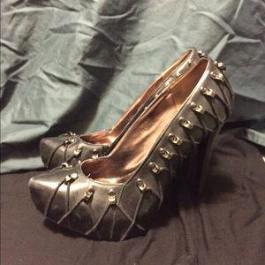 N.Y.L.A corset heels