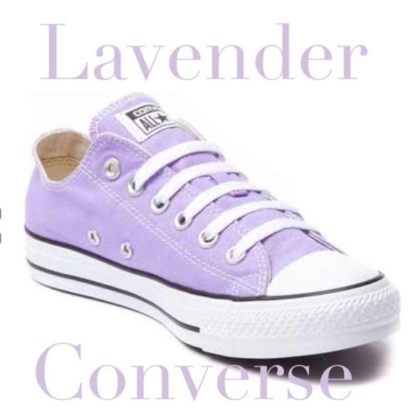 d175dda8db6f Lavender converse