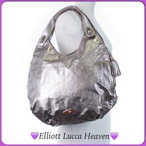 Elliott Lucca Handbags - 💜Fabulous Large Leather Elliott Lucca Bag💜