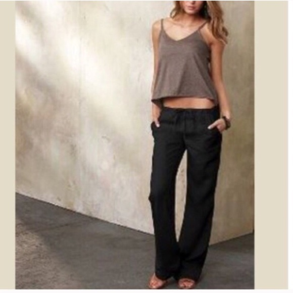 69% off Pants - Black linen pants SALE LAST ONE from Evelyne's ...