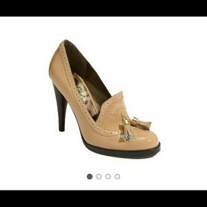 Sam Edelman Truman Oxford Nude Pumps