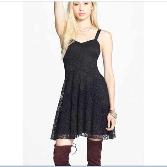 59% off Free People Dresses &amp- Skirts - Free People Flocked Lace ...