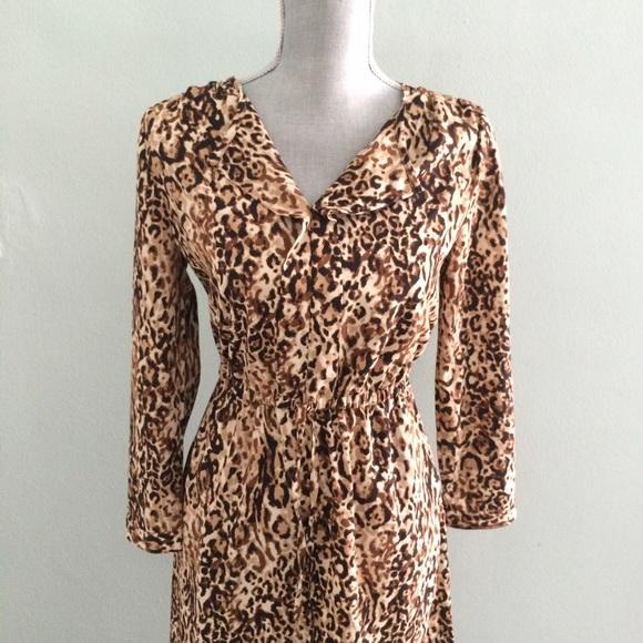Merona Dresses & Skirts - Animal print tunic dress