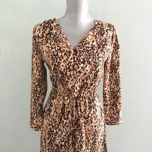Merona Dresses & Skirts - Animal print tunic dress