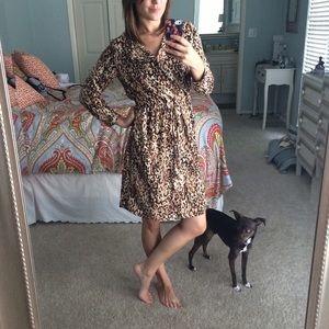 Merona Dresses - Animal print tunic dress