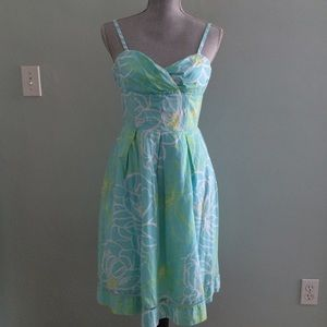 Lilly Pulitzer Dresses & Skirts - Lilly Pulitzer turquoise printed sundress