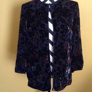Black Tie Oleg Cassini Cardigan Jacket sz16