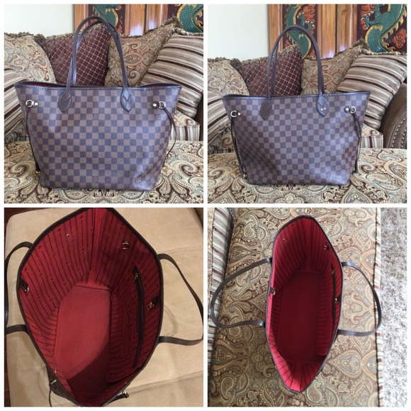 bd05997349fd9 Reserve for Nicole...Authentic LV Neverfull