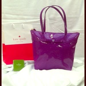 NWT Kate Spade Jeralyn Camellia Tote
