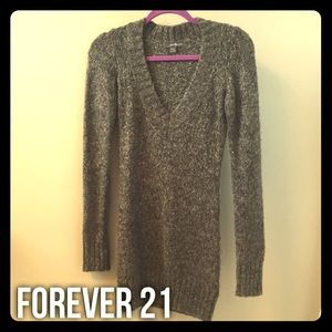 Forever 21 Sweater Dress/Tunic - sz SM