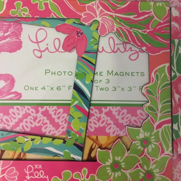 lilly pulitzer other lilly pulitzer frame magnets