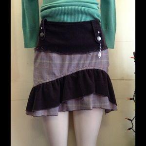 Motivi Hi-Low Mini Skirt