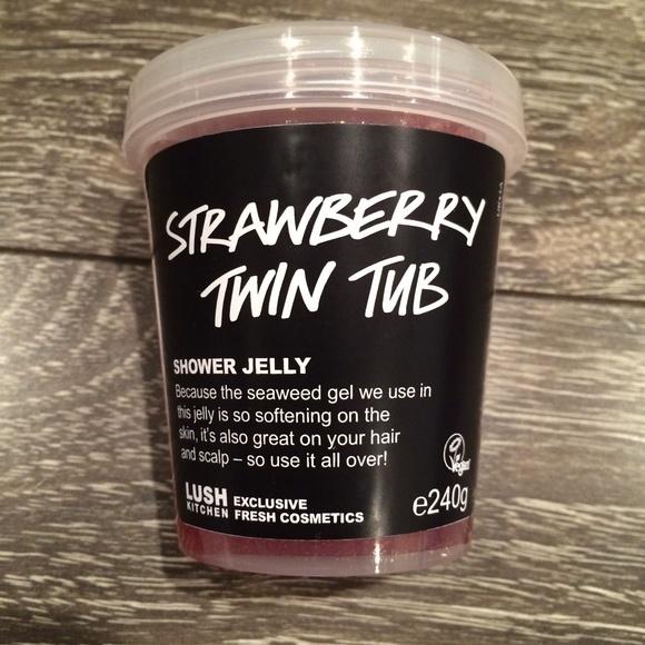 Lush Other Kitchen Strawberry Twin Tub Shower Jelly Poshmark