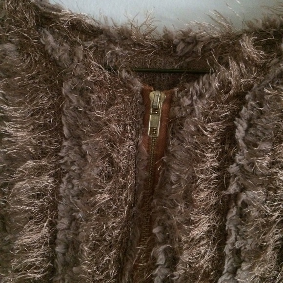 20% off Sweaters - Soft furry brown sweater from Esther's closet ...