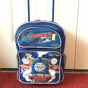 Thomas the Train Rolling Backpack Luggage