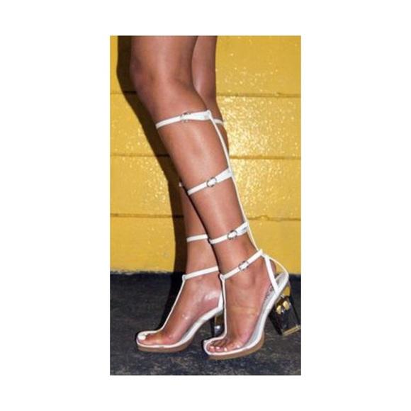bc9062515082 Jeffrey Campbell Shoes - Jeffrey Campbell Lavish Gladiator Sandals