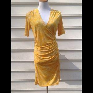 JLO faux wrap dress. HOST PICK