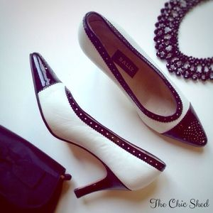 BALLY Shoes - 🎉HP🎉 Vintage Bally Spectator Pumps