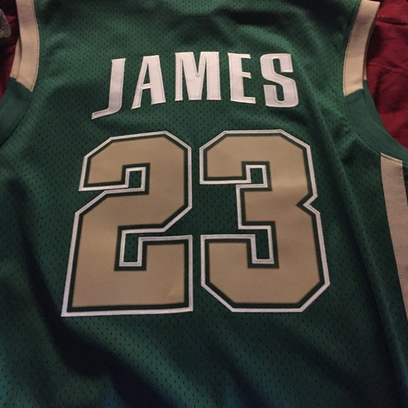 best sneakers 22c91 4686e inexpensive lebron james high school jersey nike 9968d 18e79