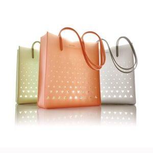 Eddie Borgo Handbags - New Designer Eddie Borgo Jelly Tote Bag grey
